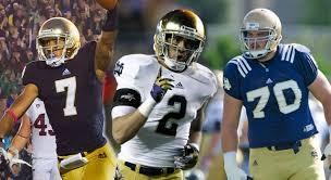 TJ Jones, Zack Martin, Bennett Jackson 2013 Notre Dame Captains // UHND.com
