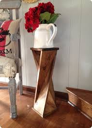 diy rustic furniture plans. #woodworkingplans #woodworking #woodworkingprojects Wood Projects ~ Make This DIY Twisted Side Table Diy Rustic Furniture Plans A