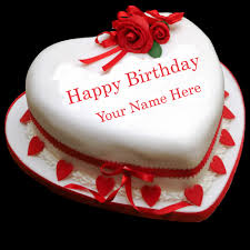 Write Your Name On Birthday Celebration Cakes Online