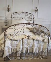 antique iron bed frames. Interesting Antique Parisian Antique Iron Bed C1910 By FullBloomCottage On Etsy 229500 To Frames T