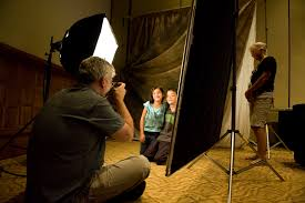 mpf attendee aubrey hord captured this image of studio lighting presenter and new york photographer jack reznicki as he demonstrates softbox techniques