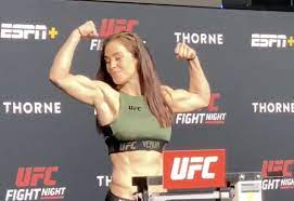 Watch a ripped Miesha Tate weigh-in for ...