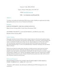 Certified Family Nurse Practitioner In West Palm Beach Fl Resume