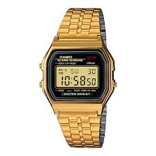casio watches edifice g shock solar digital h samuel casio men s yellow gold tone digital watch product number 2400421