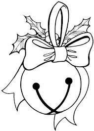 Free Coloring Pages For Christmas Bell
