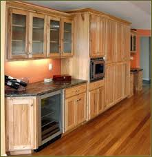 Hickory Cabinets With Dark Wood Floors Hickory Wood Cabinets T47