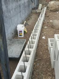 landscaping retaining walls concrete