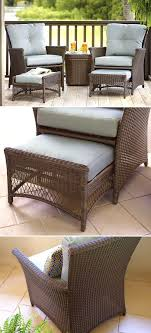 white patio furniture. This Affordable Patio Set Is Just The Right Size For Your Small From White Furniture With Blue Cushions , Source:Beautiful P