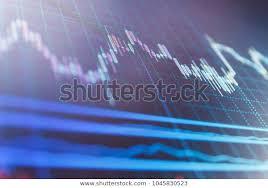 Forex Market Live Chart Forex Market Charts On Computer Display Stock Photo Edit