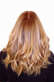 Copper Hair Color With Blonde Highlights