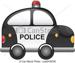 police car clipart black and white. Perfect White Police Car  Csp8109765 Throughout Police Car Clipart Black And White A