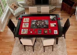 Wooden Game Table Plans Table of Ultimate Gaming The Ultimate Game Table by Wood Robot 96