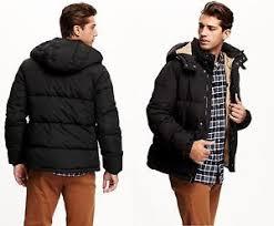 Old Navy Mens Hooded Winter Jacket Reg Tall S M L Xl 2xl 3xl