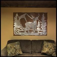 bear mountain metal art