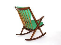 Modern Rocking Chair Scandinavian Modern Rocking Chair By Frank Reenskaug Circa 1960