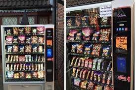 Vending Machine Tricks Fascinating Halloween The Easy Way Business Installs VENDING MACHINE Outside