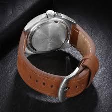 naviforce 9104 men waterproof wrist watch fashion leather