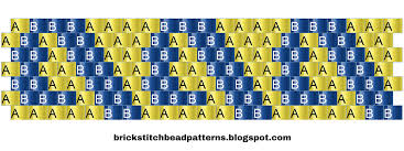 Pony Bead Patterns Free Printable Magnificent Inspiration Design