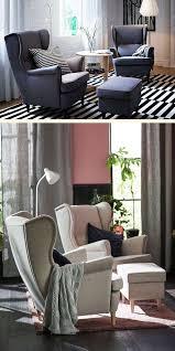 strandmon wing chair nordvalla dark gray ideas for ikea wing chair