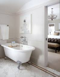 Bathroom With Clawfoot Tub Concept Simple Design Ideas