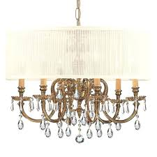 large drum chandelier 6 light shade brass view larger image style