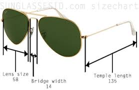 Ray Ban Aviator Sunglasses Size Chart Comparing And Identifying The Ray Ban 3025 3029 3030 3407
