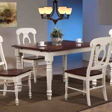sunset trading 5 piece erfly leaf dining table set with napoleon chairs