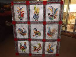 Radical roosters quilt top done. Whew! & Attached Images Adamdwight.com