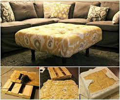 do it yourself pallet furniture. Pallet Simple Ottoman DIY Do It Yourself Furniture