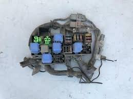 oem 1984 1989 nissan 300zx z31 complete electrical relay fuse box 1991 nissan 300zx na z32 oem engine bay fuse relay box mt