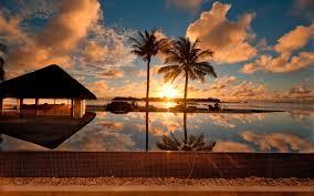 Sunset At Palm Beach HD desktop ...