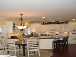 lighting for small kitchen. Elegant Kitchen Table Lighting Ceiling Lights Round Idea For Small E