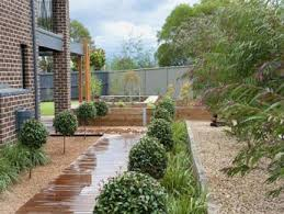 Small Picture garden ideas with hedging