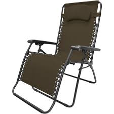 caravan sports oversized infinity zero gravity chair brown com