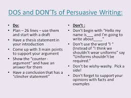 44 another word for conclusion persuasive writing the ins and outs the details the plan ppt