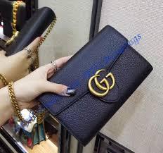 gu401231g black gucci gg marmont leather mini chain bag jpg