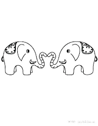 Mom And Baby Elephant Coloring Pages Coloring Mother And Baby