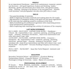 Cool Handyman Resume Template Pictures Inspiration Professional