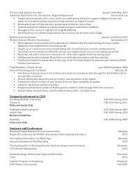 Freshman College Student Resume Mesmerizing Resume For Freshman College Student Foodcityme