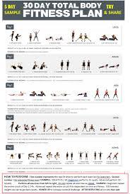women l 5 day workout plan