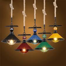 industrial hanging pendant light color