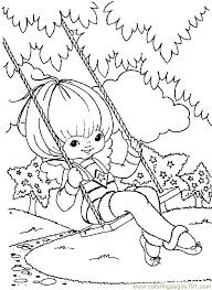 Small Picture 16 best Rainbow Bright coloring pages images on Pinterest