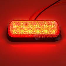 1000 Watt Strobe Light Amazon Com Red Led 4 Watt Emergency Vehicle Waterproof