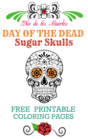 Day Of The Dead Free Printable
