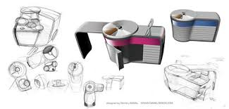 small sized furniture. High Tech Kitchen For A Small Size Apartments Sized Furniture