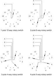 3 way rotary switch rotary auto engine wiring diagrams 6 Way Rotary Switch Wiring Diagram 3 way rotary switch rotary auto engine wiring diagrams 6 position rotary switch wiring diagram