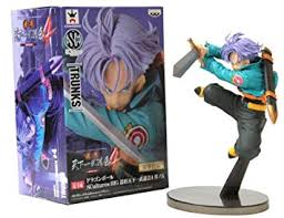 "<b>Banpresto Dragon Ball Z</b> Scultures Figure 49090 4"" Future Trunks ..."