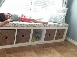fabulous window seat storage bench with best 25 kallax window seat ideas on kids storage