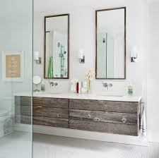 toronto rustic vanity with white shade bathroom contemporary and keep calm carry on hexagon floor tile