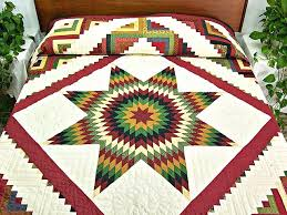 Really Scrappy Lone Star Rainbow Quilt Lone Star Quilt Pattern ... & ... Country Colors Extra Fine Lone Star Log Cabin Quilt Photo 1 Lone Star  Quilts Pinterest Lone Lone Star Quilt Shop ... Adamdwight.com